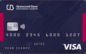 Карта банка УБР